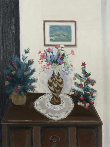 Evie O'Connor Hallway Decorations, 2020 Oil on panel 20.5 x 15.5 cm. / 8 x 6 in.
