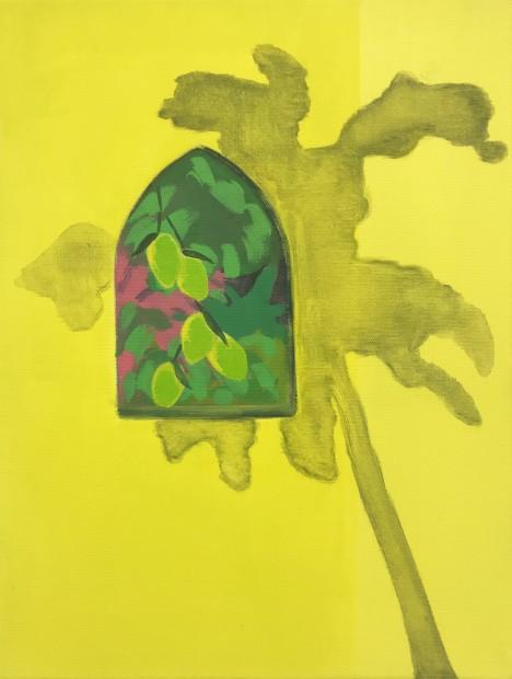 Cara Nahaul Imagined Window 1, 2020 Oil on canvas 40 x 30 cm. / 16 x 12 in.