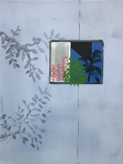 Cara Nahaul Imagined Window 2, 2020 Oil on canvas 40 x 30 cm. / 16 x 12 in.