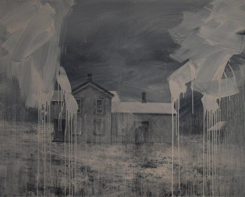 "<div class=""artist""><strong>Nicholas McLeod</strong></div> <div class=""title""><em>Old Appetites</em>, 2011</div> <div class=""medium"">Acrylic and oil on board</div> <div class=""dimensions"">122 x 154 cm<br />48 1/8 x 60 5/8 in</div>"