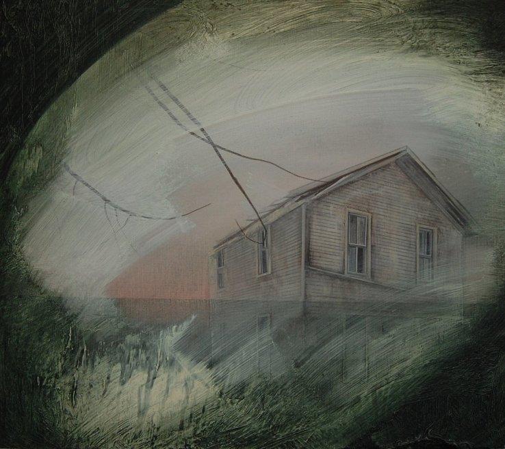 "<div class=""artist""><strong>Nicholas McLeod</strong></div> <div class=""title""><em>Study of A Barn</em>, 2011</div> <div class=""medium"">Acrylic and oil on board</div> <div class=""dimensions"">54 x 61 cm<br />21 1/4 x 24 1/8 in</div>"