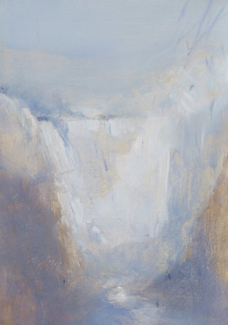 """<div class=""""artist""""><strong>Briony Anderson</strong></div> <div class=""""title""""><em>From a Fall of Water</em>, 2012</div> <div class=""""medium"""">Oil on paper</div> <div class=""""dimensions"""">21 x 14.5 cm<br />8 1/4 x 5 3/4 in</div>"""