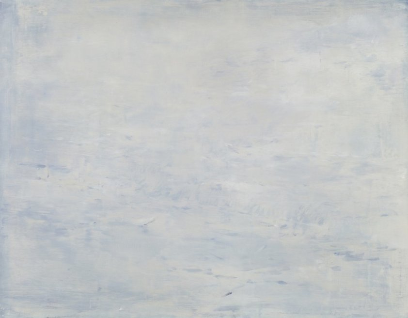 """<div class=""""artist""""><strong>Briony Anderson</strong></div> <div class=""""title""""><em>From Merging, or Melding, Swimming Together</em>, 2012</div> <div class=""""medium"""">Oil on canvas</div> <div class=""""dimensions"""">66 x 84 cm<br />26 x 33 1/8 in</div>"""