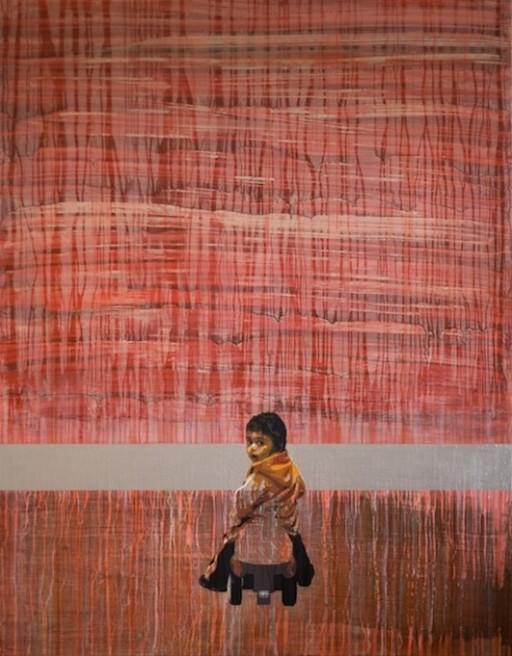 "<div class=""artist""><strong>Hani Zurob</strong></div> <div class=""title""><em>Flying Lesson #03</em>, 2010</div> <div class=""medium"">Acrylic and Pigments on Canvas</div> <div class=""dimensions"">200x160cm</div>"