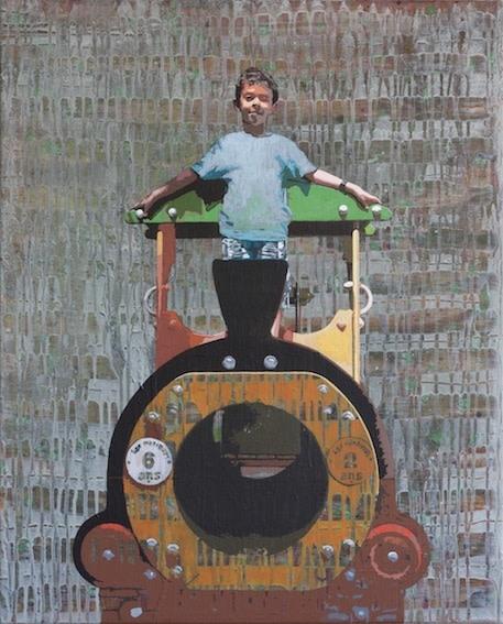 "<div class=""artist""><strong>Hani Zurob</strong></div> <div class=""title""><em>Waiting #10</em>, 2013</div> <div class=""medium"">Acrylic and Pigments on Canvas</div> <div class=""dimensions"">81x65cm</div>"