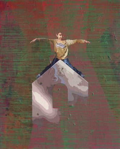 "<div class=""artist""><strong>Hani Zurob</strong></div> <div class=""title""><em>Waiting #11</em>, 2013</div> <div class=""medium"">Acrylic and Pigments on Canvas</div> <div class=""dimensions"">81x65cm</div>"