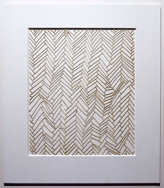 <p>Rachel Whiteread</p><p>Herringbone Floor</p>