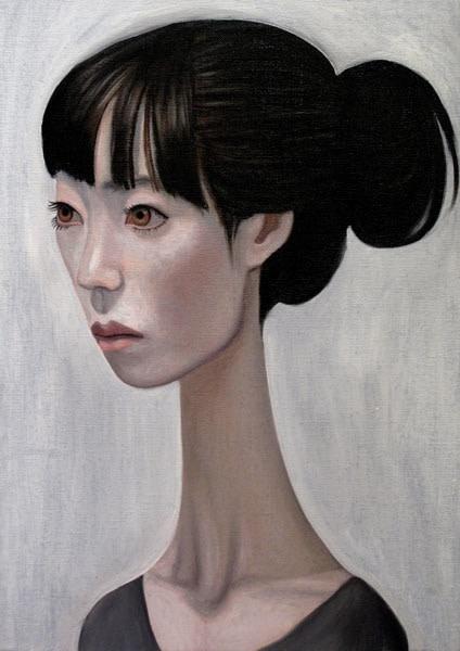 <p>Carl Randall</p><p>Sumiko</p><p>Oil on canvas</p><p>45 x 33 cm</p>