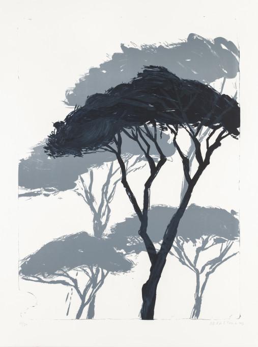 LES ARTISTES DE LA GALERIE TRAVAILLENT NOUVELLE LITHOGRAPHIE D'ASTRID DE LA FOREST