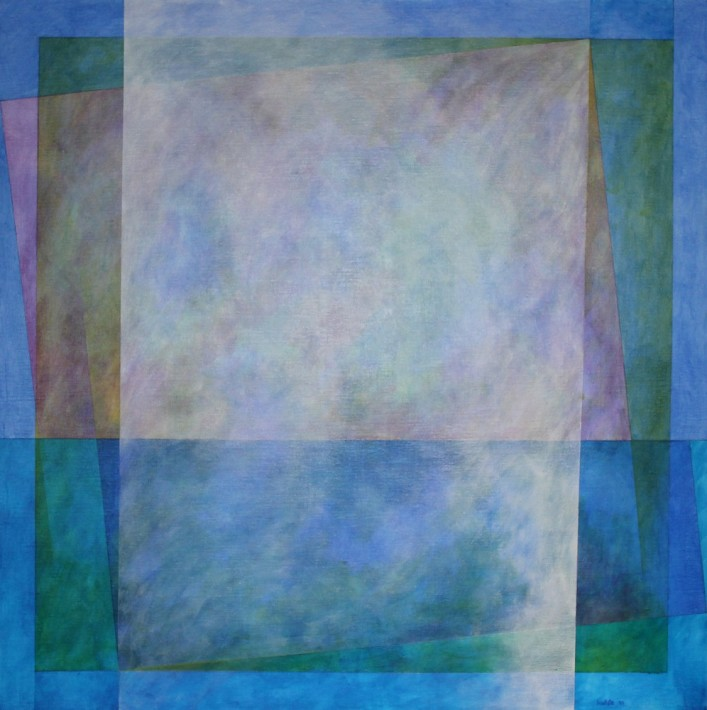 Kamal Boullata takes part in Adventures of the Black Square: Abstract Art and Society 1915 – 2015 at the Whitechapel Gallery