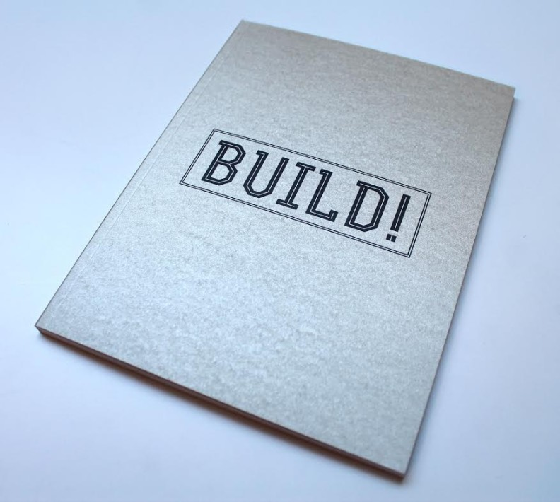Artist in residence Edward Coyle - Build!