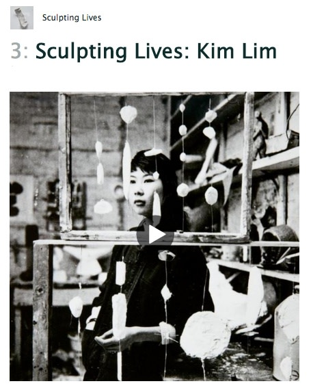 A New Podcast about Sculptor Kim Lim