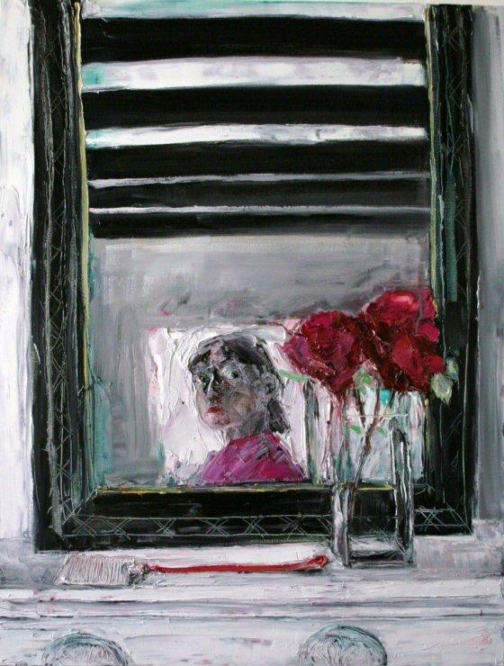 "<span class=""artist""><strong>Shani Rhys James</strong></span>, <span class=""title""><em>La tappe mouche</em>, 2008</span>"