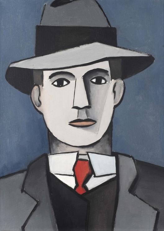 <span class=&#34;artist&#34;><strong>Jean H&#233;lion</strong></span>, <span class=&#34;title&#34;><em>Homme au chapeau</em>, 1943</span>