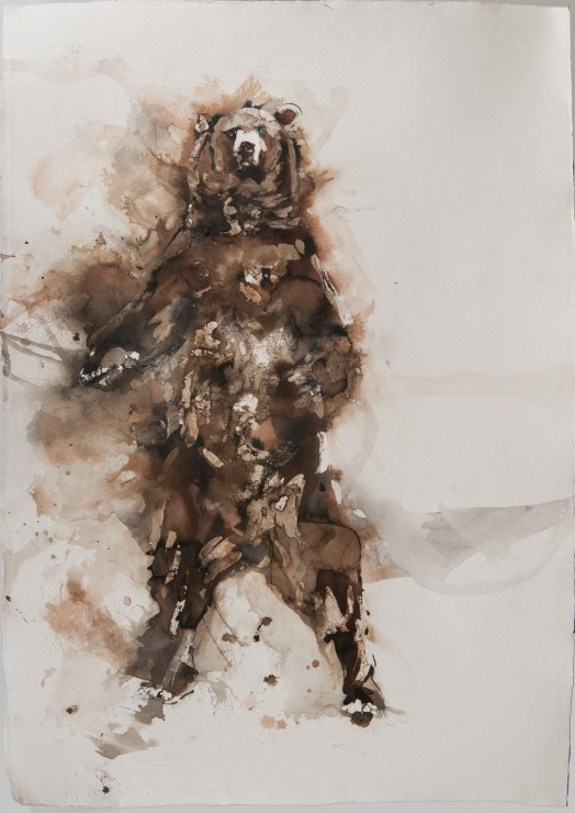 "<span class=""artist""><strong>Paul Richards</strong></span>, <span class=""title""><em>Brown Bear</em>, 2014</span>"