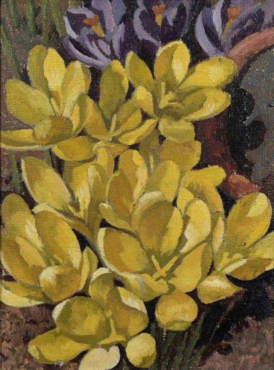 "<span class=""artist""><strong>Stanley Spencer</strong></span>, <span class=""title""><em>Crocus</em>, 1938</span>"