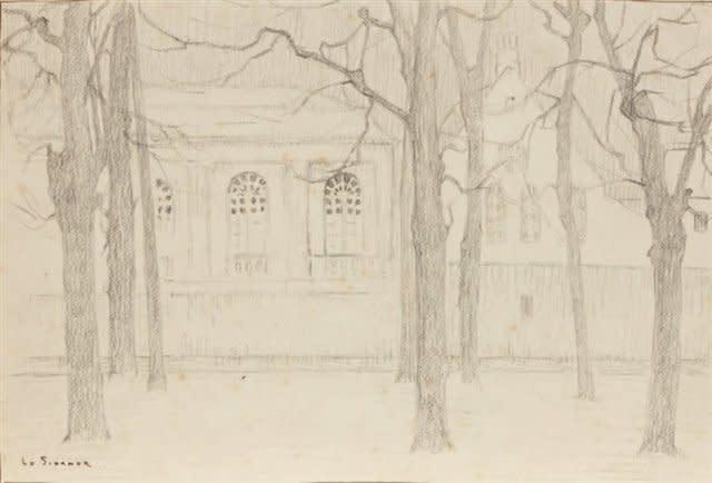 <span class=&#34;artist&#34;><strong>Henri Le Sidaner</strong></span>, <span class=&#34;title&#34;><em>Etude pour &#34;L'Orangerie&#34;; Bruges</em>, 1899</span>