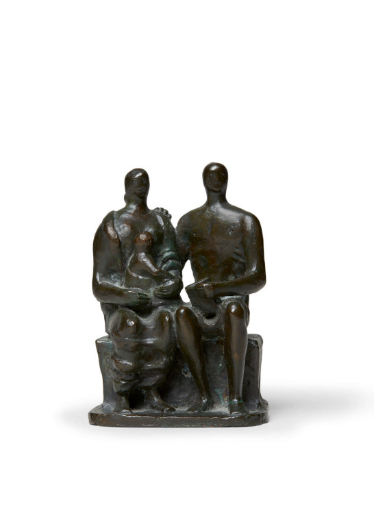 "<span class=""artist""><strong>Henry Moore</strong></span>, <span class=""title""><em>Family Group</em>, 1956</span>"