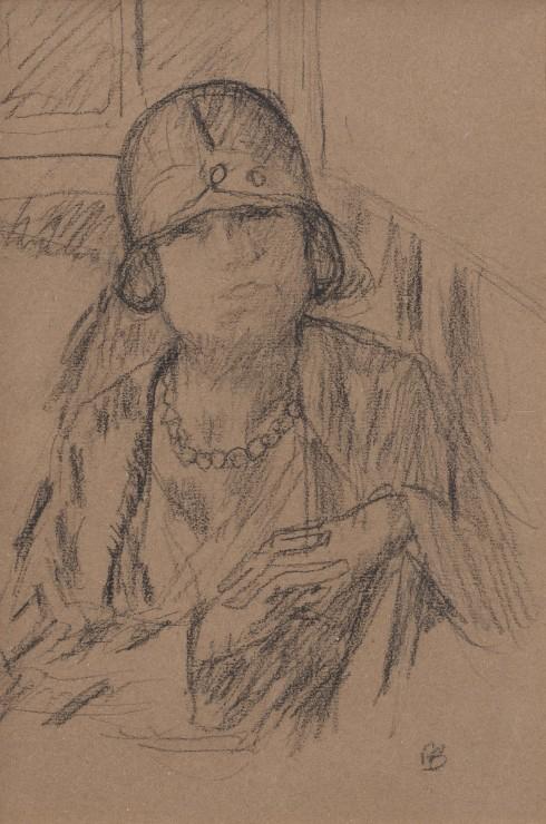 <span class=&#34;artist&#34;><strong>Pierre Bonnard</strong></span>, <span class=&#34;title&#34;><em>Femme au chapeau</em>, c.1924</span>