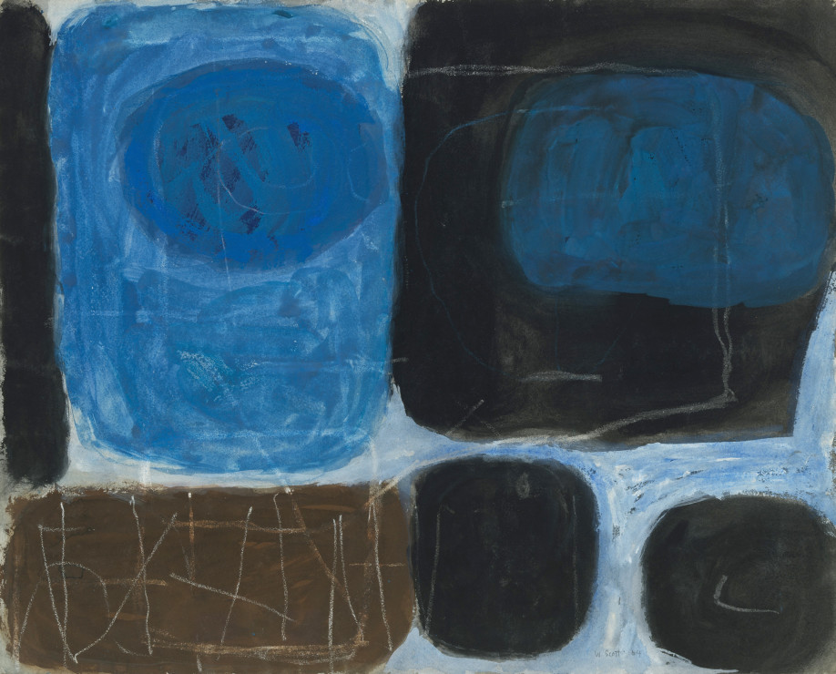 "<span class=""artist""><strong>William Scott</strong></span>, <span class=""title"">Untitled, 1964</span>"