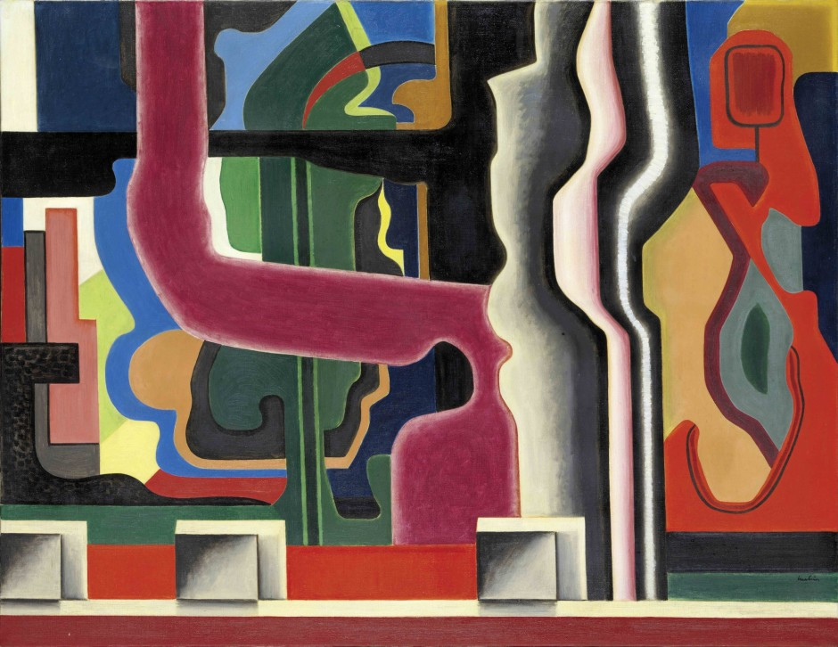 "<span class=""artist""><strong>Auguste Herbin</strong></span>, <span class=""title""><em>Composition, Abstraction</em>, 1925</span>"