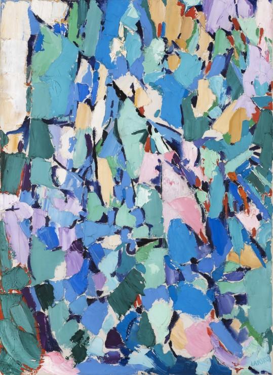 """<span class=""""artist""""><strong>André Lanskoy</strong></span>, <span class=""""title""""><em>Générosité des herbes</em>, 1959</span>"""