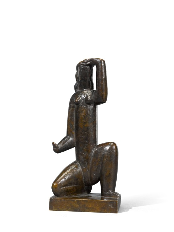 "<span class=""artist""><strong>Henri Laurens</strong></span>, <span class=""title""><em>Femme au miroir</em>, c.1929</span>"