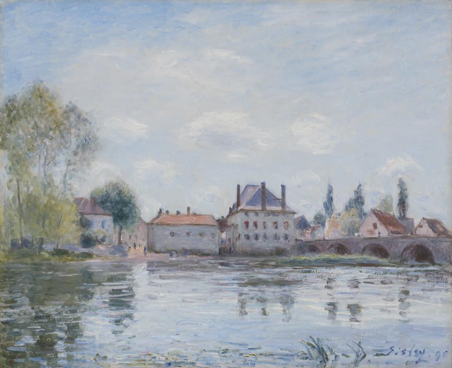 <span class=&#34;artist&#34;><strong>Alfred Sisley</strong></span>, <span class=&#34;title&#34;><em>Le Pont de Moret</em>, 1890</span>