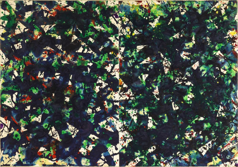 "<span class=""artist""><strong>Sam Francis</strong></span>, <span class=""title""><em>Untitled Diptych</em>, 1979</span>"