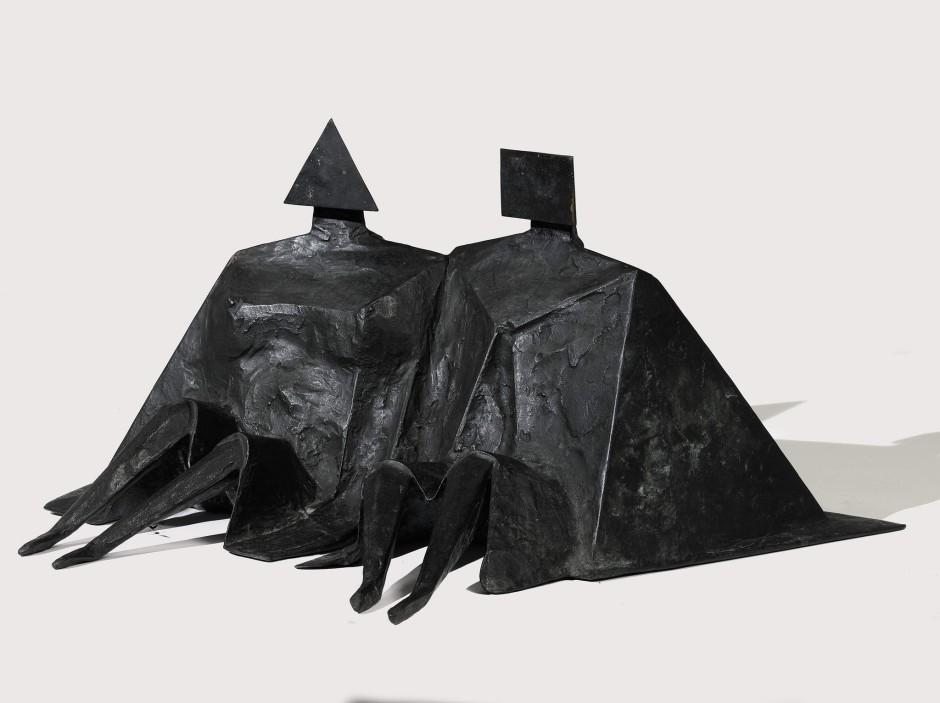 <span class=&#34;artist&#34;><strong>Lynn Chadwick</strong></span>, <span class=&#34;title&#34;><em>Sitting Couple II</em>, 1980</span>