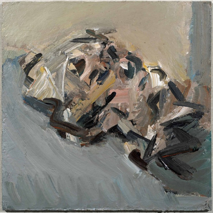 "<span class=""artist""><strong>Frank Auerbach</strong></span>, <span class=""title""><em>Reclining Head of Julia</em>, 2006</span>"
