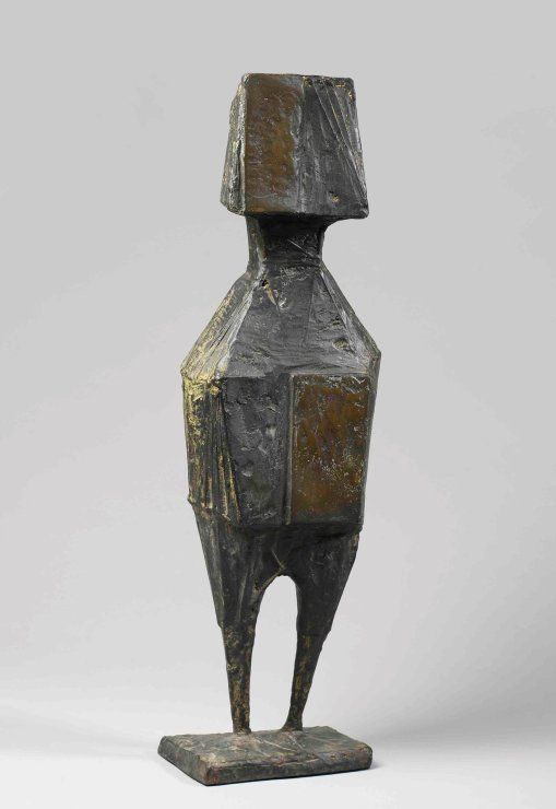 "<span class=""artist""><strong>Lynn Chadwick</strong></span>, <span class=""title""><em>Folded Winged Figure</em>, 1968</span>"