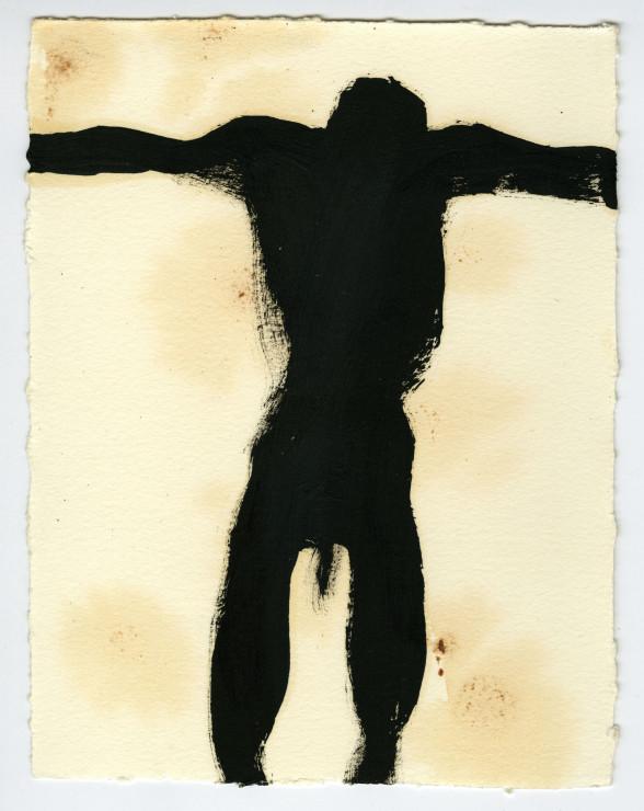 "<span class=""artist""><strong>Antony Gormley</strong></span>, <span class=""title""><em>OBEY II</em>, 2010</span>"