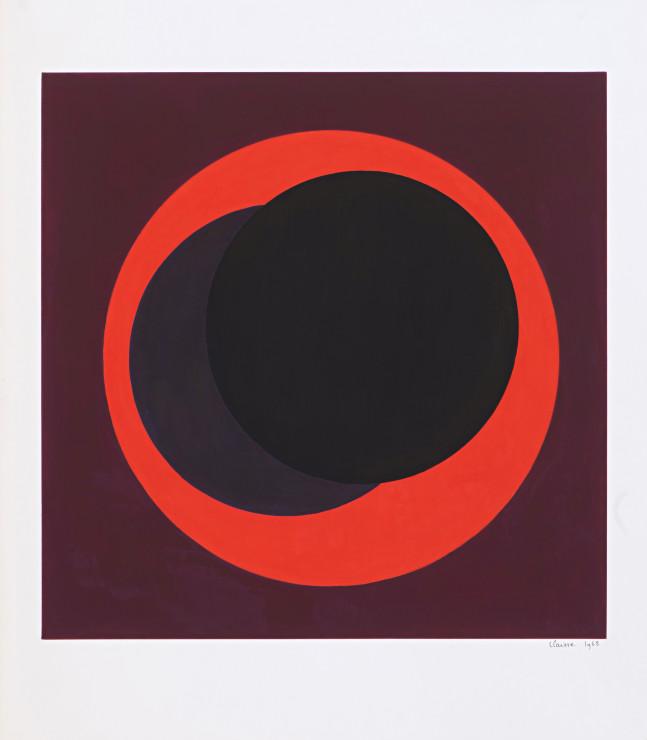 "<span class=""artist""><strong>Geneviève Claisse</strong></span>, <span class=""title""><em>Cercles</em>, 1968</span>"