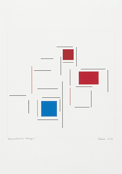 "<span class=""artist""><strong>Geneviève Claisse</strong></span>, <span class=""title""><em>Renormalisation d'Energie</em>, 2002</span>"