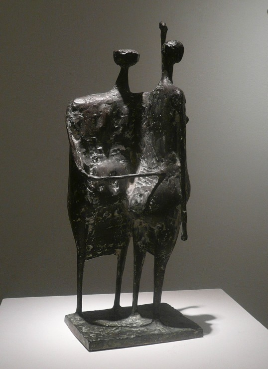 "<span class=""artist""><strong>Kenneth Armitage</strong></span>, <span class=""title""><em>Two Standing Women</em>, 1955</span>"