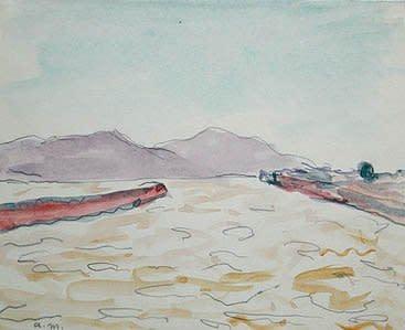 """<span class=""""artist""""><strong>Albert Marquet</strong></span>, <span class=""""title""""><em>Sortie de port, Danube</em>, 1933</span>"""