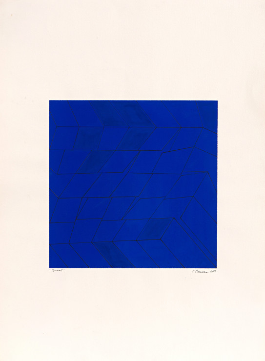<span class=&#34;artist&#34;><strong>Genevi&#232;ve Claisse</strong></span>, <span class=&#34;title&#34;><em>Quark</em>, 1977</span>