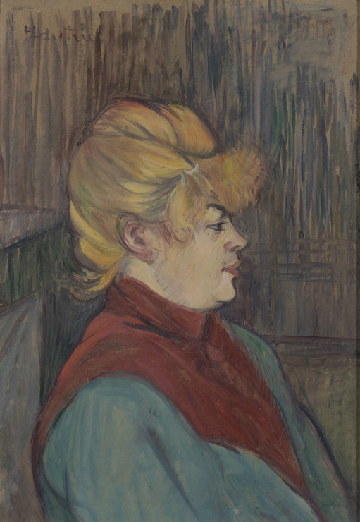 """<span class=""""artist""""><strong>Henri de Toulouse-Lautrec</strong></span>, <span class=""""title""""><em>Femme de Maison</em>, 1894</span>"""
