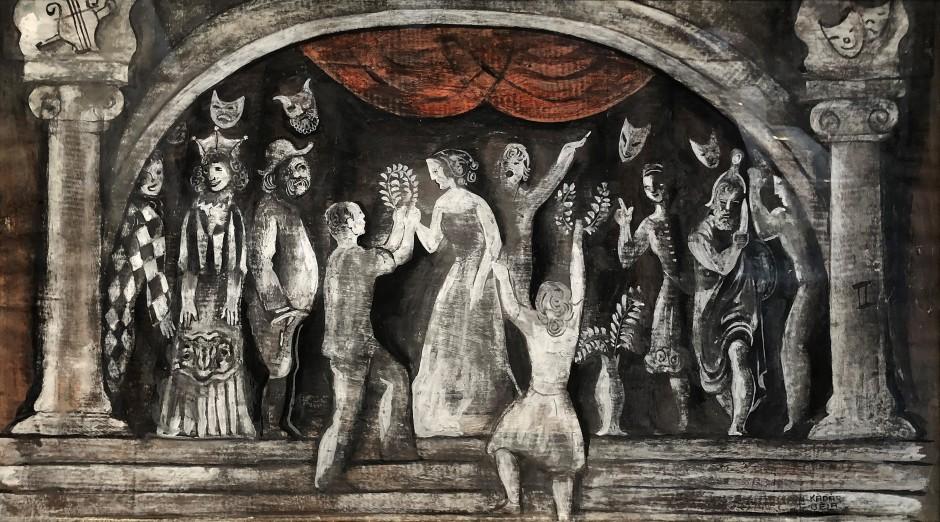"<p><span class=""artist""><strong>Béla Kadar</strong></span>, <span class=""title""><em>Carnival</em>, c. 1938</span></p>"