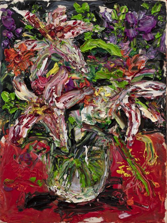 "<span class=""artist""><strong>Shani Rhys James</strong></span>, <span class=""title""><em>Lilies</em>, 2021</span>"