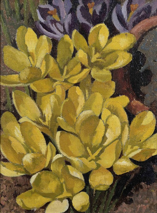 "<span class=""artist""><strong>Stanley Spencer</strong></span>, <span class=""title""><em>Crocus</em>, 1938</span>"