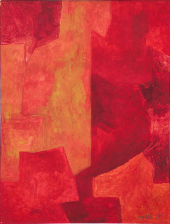 """<span class=""""artist""""><strong>Serge Poliakoff</strong></span>, <span class=""""title""""><em>Composition Abstraite</em>, 1960</span>"""