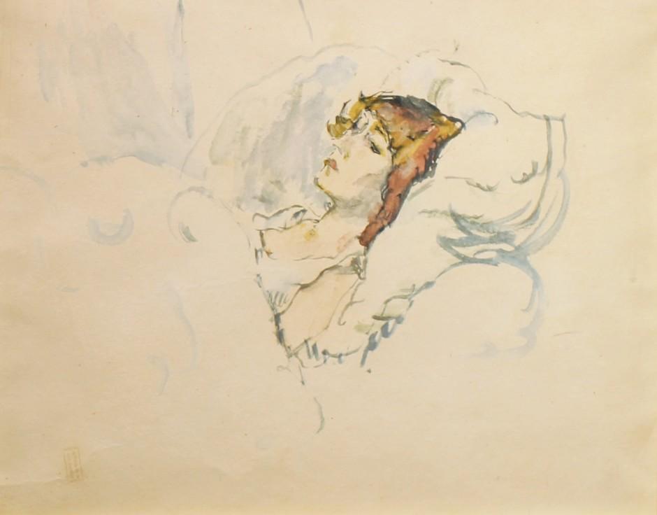 <span class=&#34;artist&#34;><strong>Jules Pascin</strong></span>, <span class=&#34;title&#34;><em>Hermine au lit</em></span>