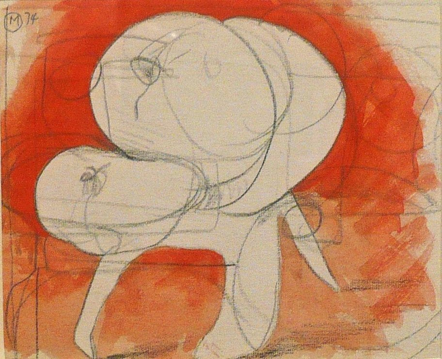"<span class=""artist""><strong>Bernard Meadows</strong></span>, <span class=""title""><em>Drawings for Sculpture: Crab Theme 2</em>, 1974</span>"