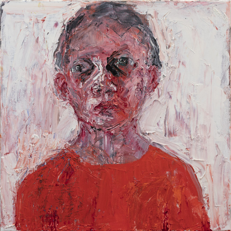 "<span class=""artist""><strong>Shani Rhys James</strong></span>, <span class=""title""><em>Figure in Orange</em>, 2021</span>"