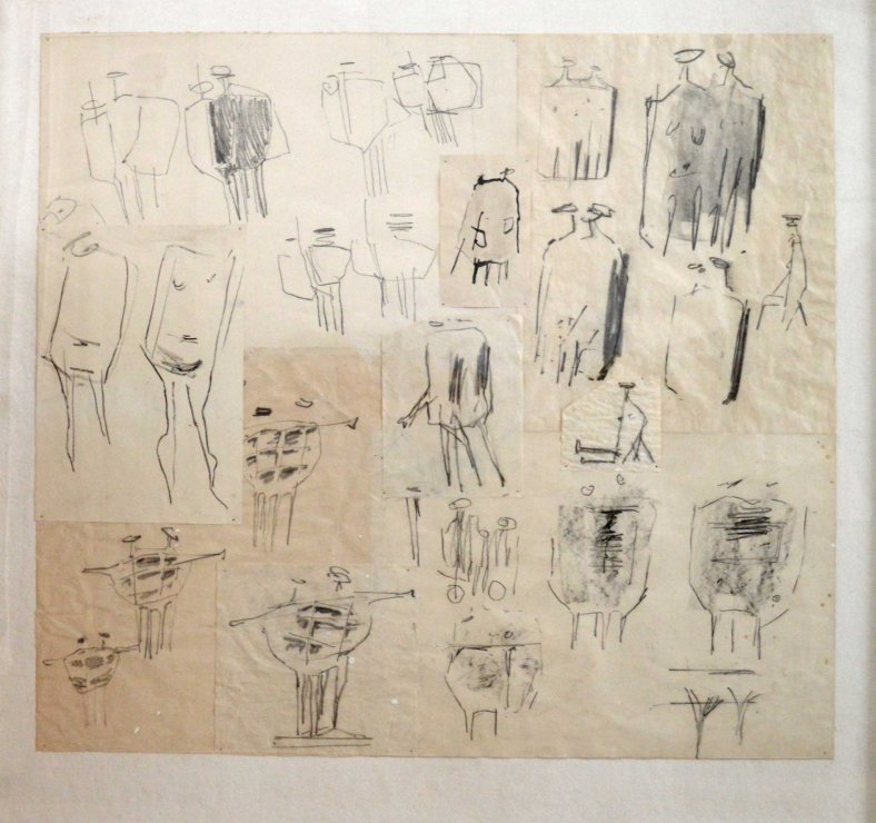 "<span class=""artist""><strong>Kenneth Armitage</strong></span>, <span class=""title""><em>Drawing</em>, 1956/7</span>"