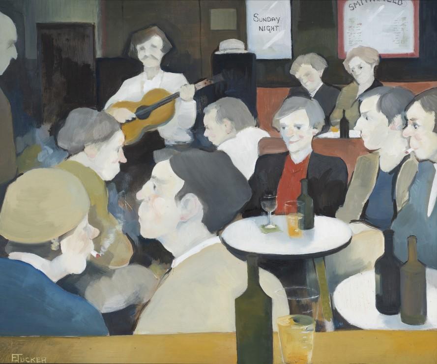 "<span class=""artist""><strong>Eric Tucker</strong></span>, <span class=""title""><em>Sunday Night, Smithfield </em></span>"