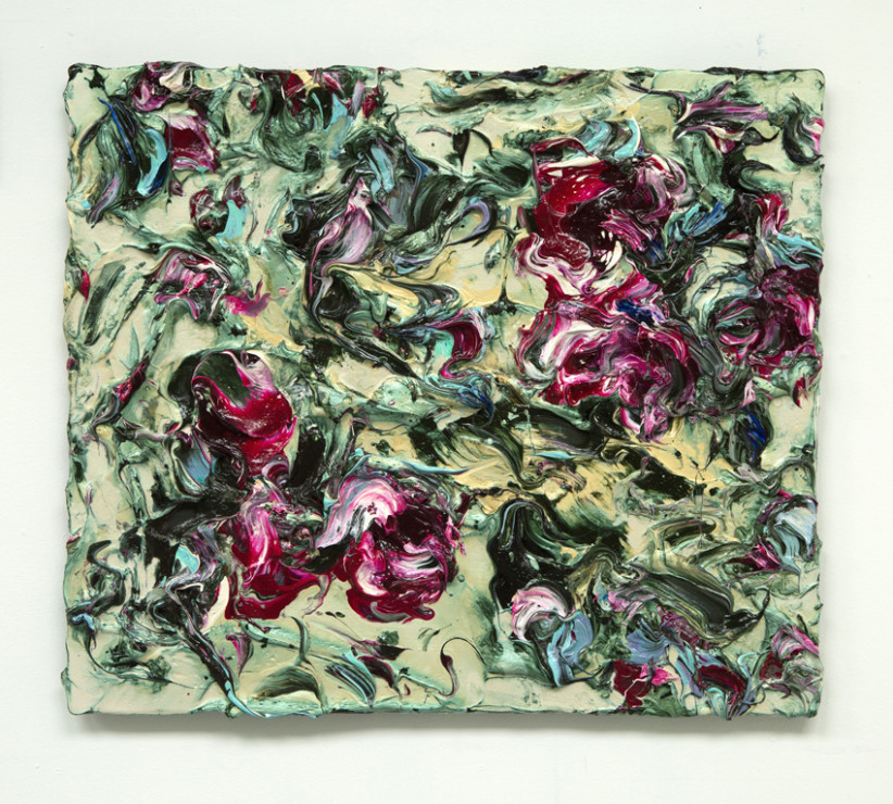 "<span class=""artist""><strong>Geoff Uglow</strong></span>, <span class=""title""><em>Rosa Moschata</em>, 2017</span>"