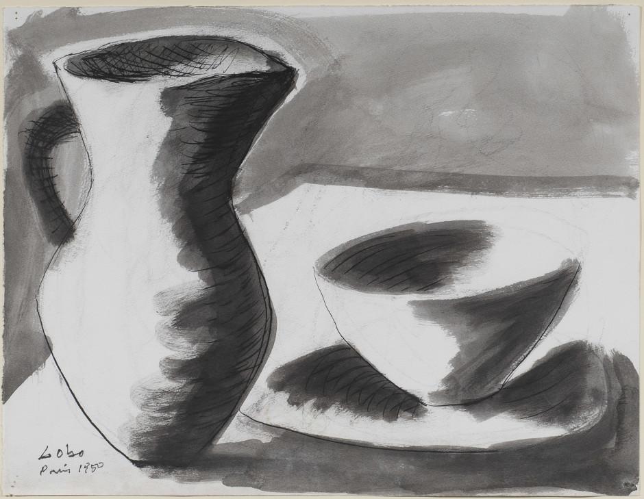 """<span class=""""artist""""><strong>Baltasar Lobo</strong></span>, <span class=""""title""""><em>Still life</em>, 1950</span>"""